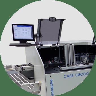 CASS C8000 Kuvertierer