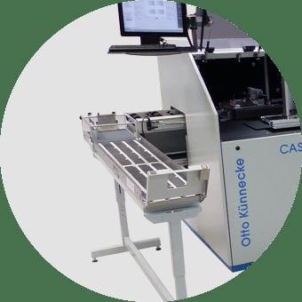 CASS C8000 Nachverarbeitung
