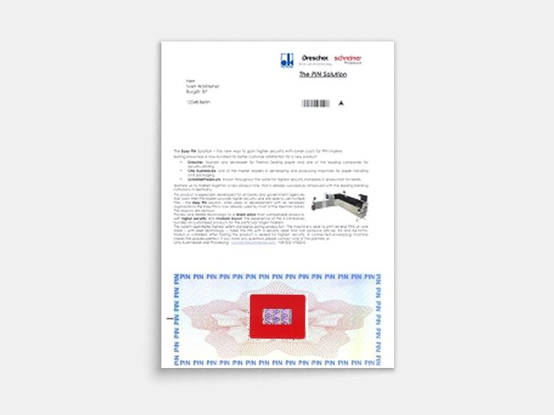 PIN Dokument